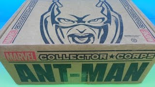 MARVEL COLLECTOR*CORPS SUBSCRIPTION BOX OPENING FEATURING ANT-MAN June 2015 thumbnail