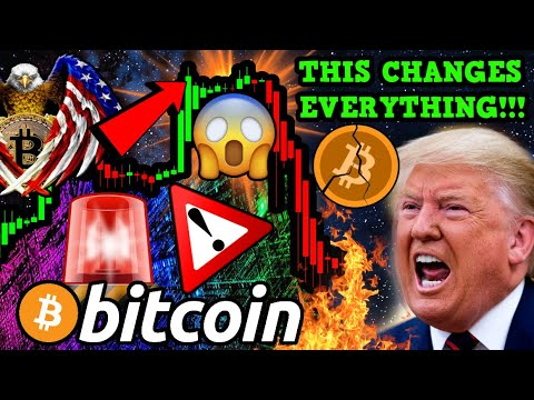 BITCOIN IN TROUBLE?!!!! THIS CHANGES EVERYTHING!!! USA TOP SECRET PLAN For BTC?!!