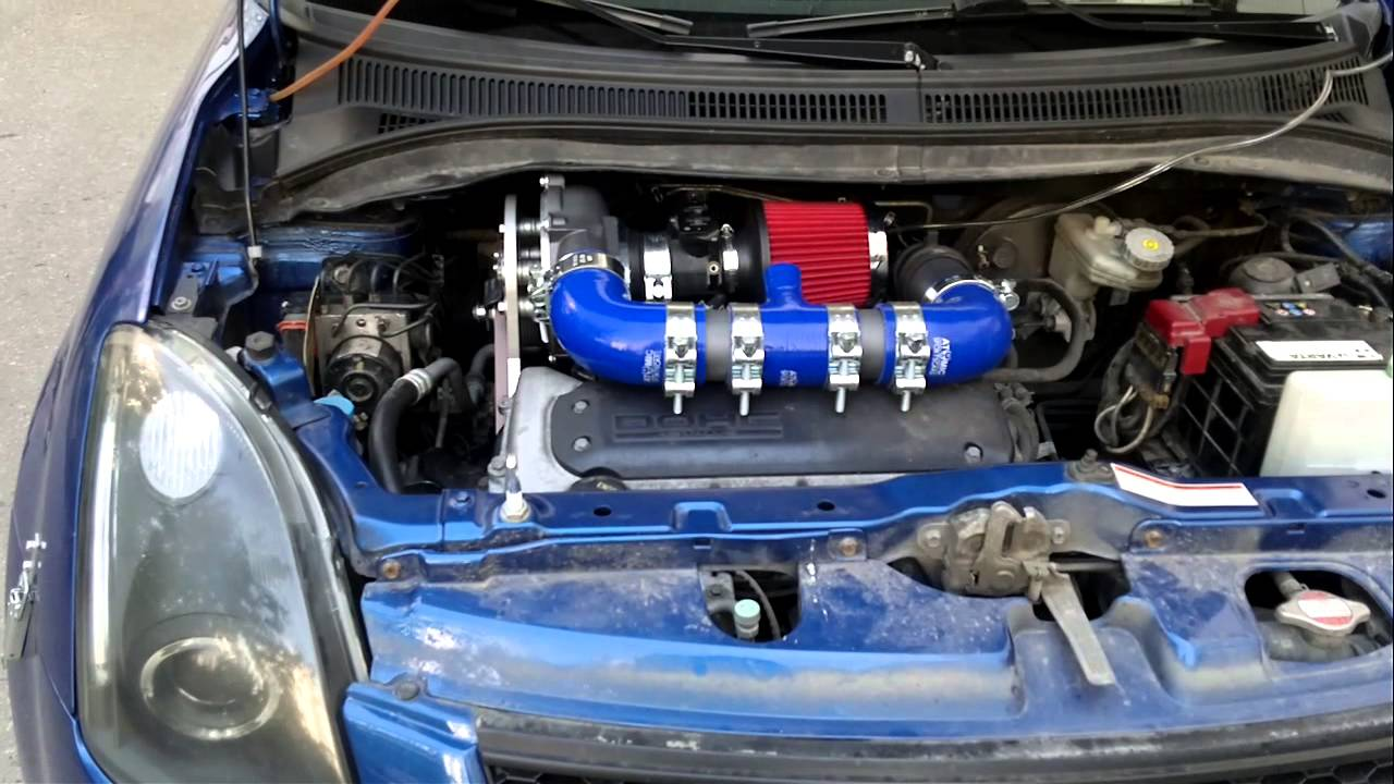 Supercharger Suzuki Swift Youtube