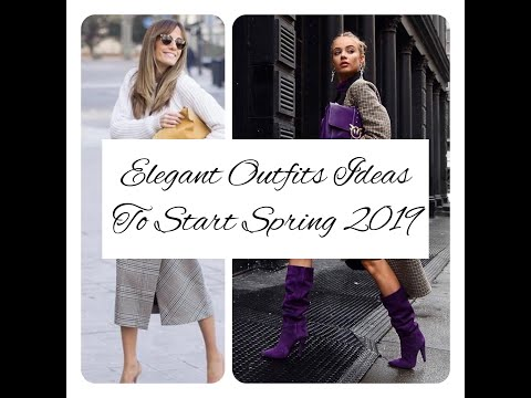 30+ The Super Chic and Stylish Street Looks Ideas to Start Your Fashionable Spring 2019.
