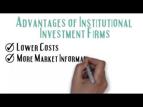 Institutional vs Retail Investment Firms