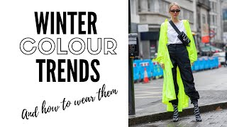 Top 10 Color Trends For Winter…