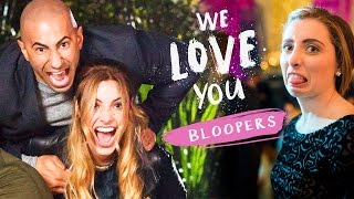 We Love You Bloopers with Lele Pons, Yousef Erakat, and Lauren Elizabeth!