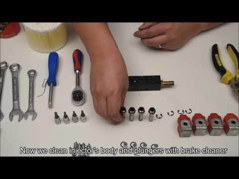 How to repair Valtek Type 30 LPG & CNG Injector