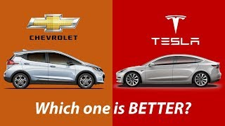 Tesla Model 3 Vs. Chevy Bolt, Which one is Better?