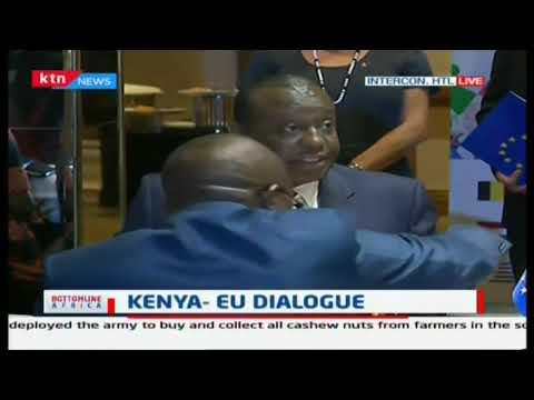 Kenya- EU partnership Dialogue on the big 4 agenda and development underway