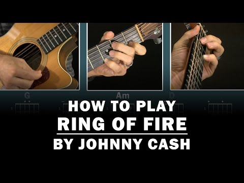 Ring of Fire (Johnny Cash) | How to Play | Beginner guitar lesson