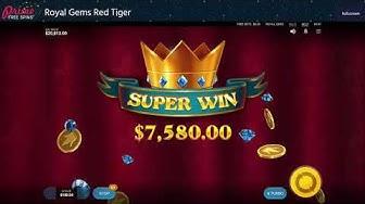 Royal Gems Red Tiger Online Slot review