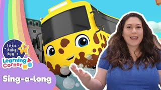 Buster at Carwash Song | Sing Along Corner | Learning Videos For Kids | Home School Cartoons