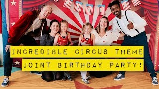Children's Entertainers in Kent | Greatest Showman theme | Lucas Jet Circus Parties