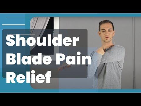 Shoulder Blade Pain Relief 4 Ways