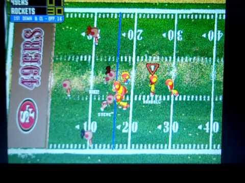 backyard football 1999 rockets vs 49ers part 2 youtube