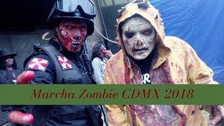 Bienvenido a la Marcha Zombie CDMX 2018.