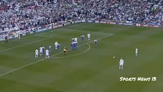 Решающий гол Дэвида Бекхэма который вывел сборную Англию на ЧМ 2002