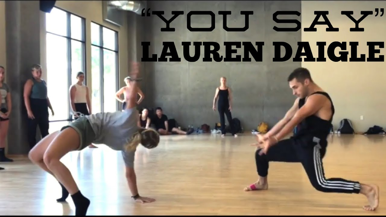 You Say Lauren Daigle Choreography by Derek Mitchell at Edge Pac in LA image