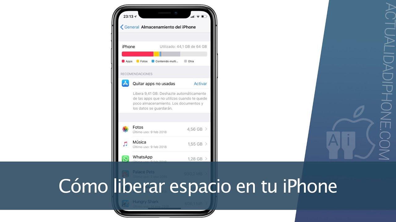 liberador de espacio en iphone 5s gratis