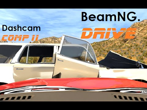 BeamNG. Drive - Dashcam Crashes Compilation 11 [Real Voices]