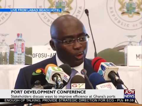 Port Development Conference on Joy News (17-5-17)