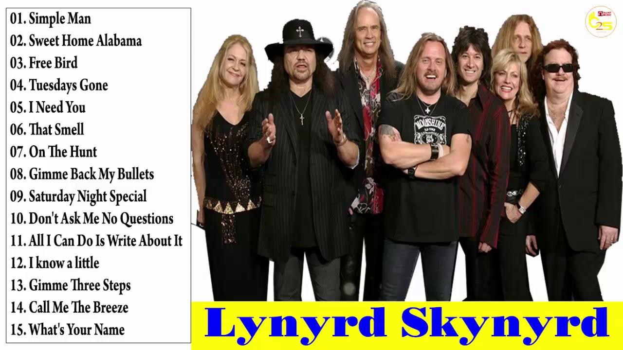 Lynyrd Skynyrd Greatest Hits 2018 Best Of Lynyrd Skynyrd Youtube