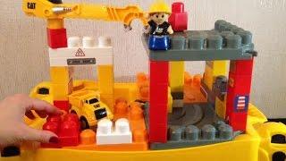 Весёлая стройка. Конструктор Mega Bloks. Видео про конструктор.(Часто дети любят собирать конструктор, а с помощью конструктора Mega Bloks можно осуществить самые удивительны..., 2015-07-09T14:18:28.000Z)