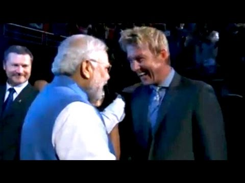 Welcome 'Modi ji', Brett Lee tells Indian Prime Minister in Sydney