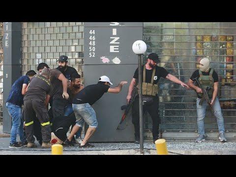 ...لبنان: عسكري يشتبه في إطلاقه النار تجاه متظاهرين في ب  - 08:54-2021 / 10 / 17