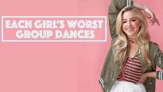 Each Girls' Worst Group Dance of Each Season// Collab!!