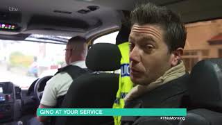 Gino Spends the Day with the Merseyside Police | This Morning