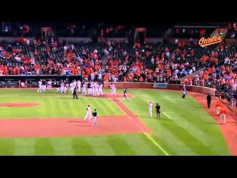 Baltimore Orioles Vs Tampa Bay Rays Chris Davis Walk Off Home Run 2015