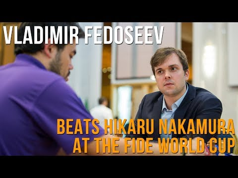 Vladimir Fedoseev on beating Hikaru Nakamura at the World Cup