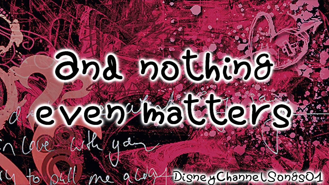 Nothing Even Matters Big Time Rush Lyrics | MP3 Download