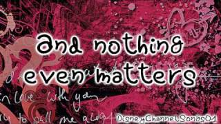 Big Time Rush - Nothing Even Matters With Lyrics