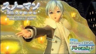 【Project DIVA Arcade FT】スノーマン【KAITO・ダイヤモンドダスト】(720p/60fps) kaito 検索動画 11