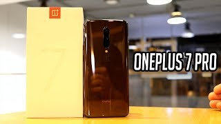OnePlus 7 Pro Mirror Gray vs Nebula Blue Unboxing & Comparison!