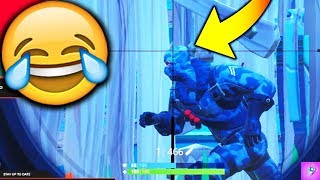 MOST CLUELESS PLAYER IN FORTNITE BATTLE ROYALE!!