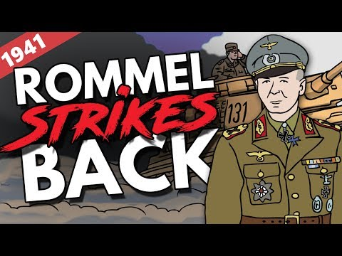 North African Campaign 1941   Animated History