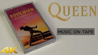 Queen - Bohemian Rhapsody - Soundtrack - Cassette - We Will Rock You - Movie Mix - 4K