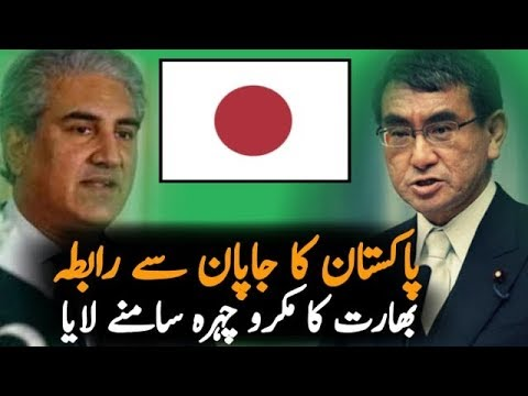 Mehmood Qureshi Call Japanese Foreign Minister Talking About Article 370
