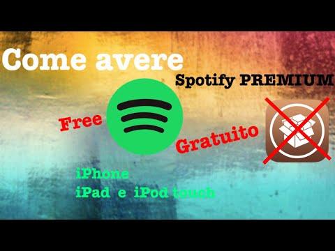 Come avere Spotify PREMIUM GRATIS su iPhone, iPad e iPod Touch!!!
