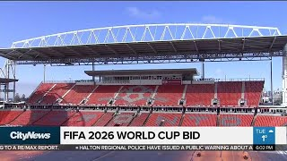 Canada joins U.S., Mexico in 2026 World Cup bid
