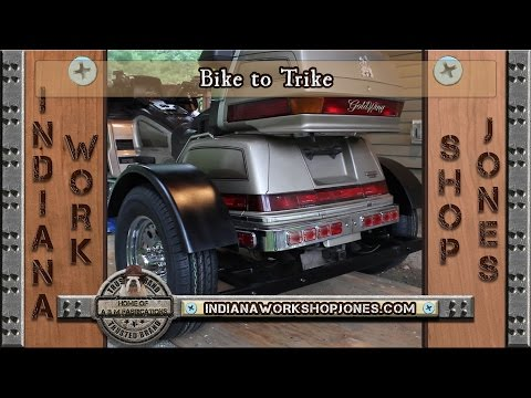 Turn a Motorcycle into a Trike with simple Fabrication/Metalwork