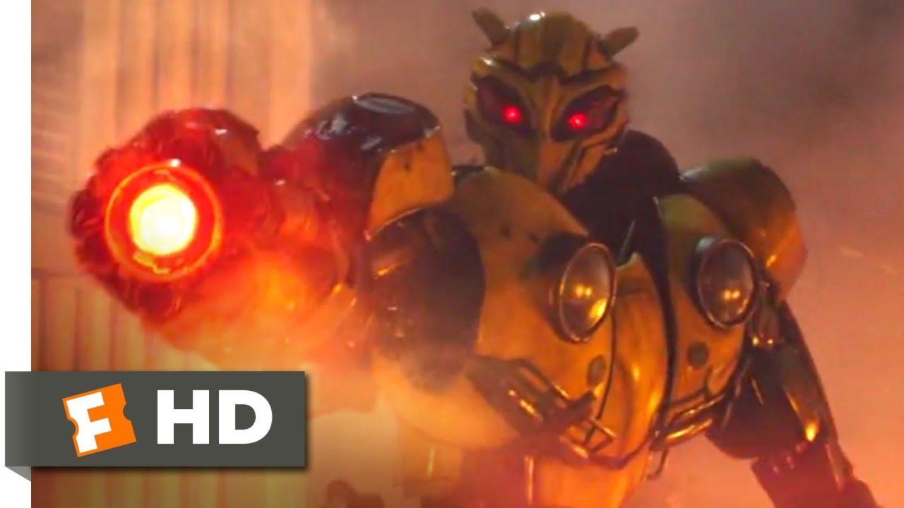 Download Bumblebee (2018) - The Baddest Bee Scene (8/10)   Movieclips