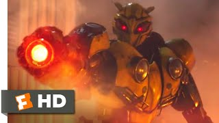 Bumblebee (2018) - The Baddest Bee Scene (8/10) | Movieclips