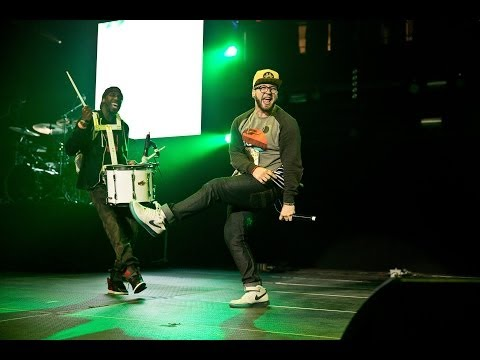 Andy Mineo performing live at The Roadshow 2014