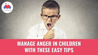 Anger Management Techniques For Children - Parenting Tips