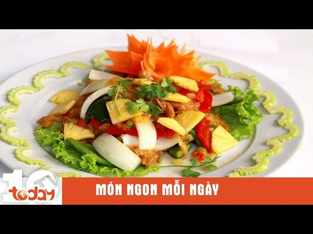 """Giải ngấy """"siêu ngon"""" với salad ngũ sắc chay   TodayTV"""
