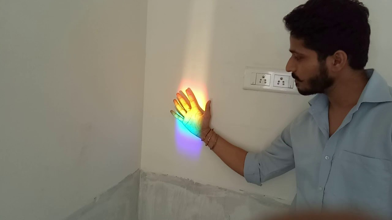 how to create rainbow at home