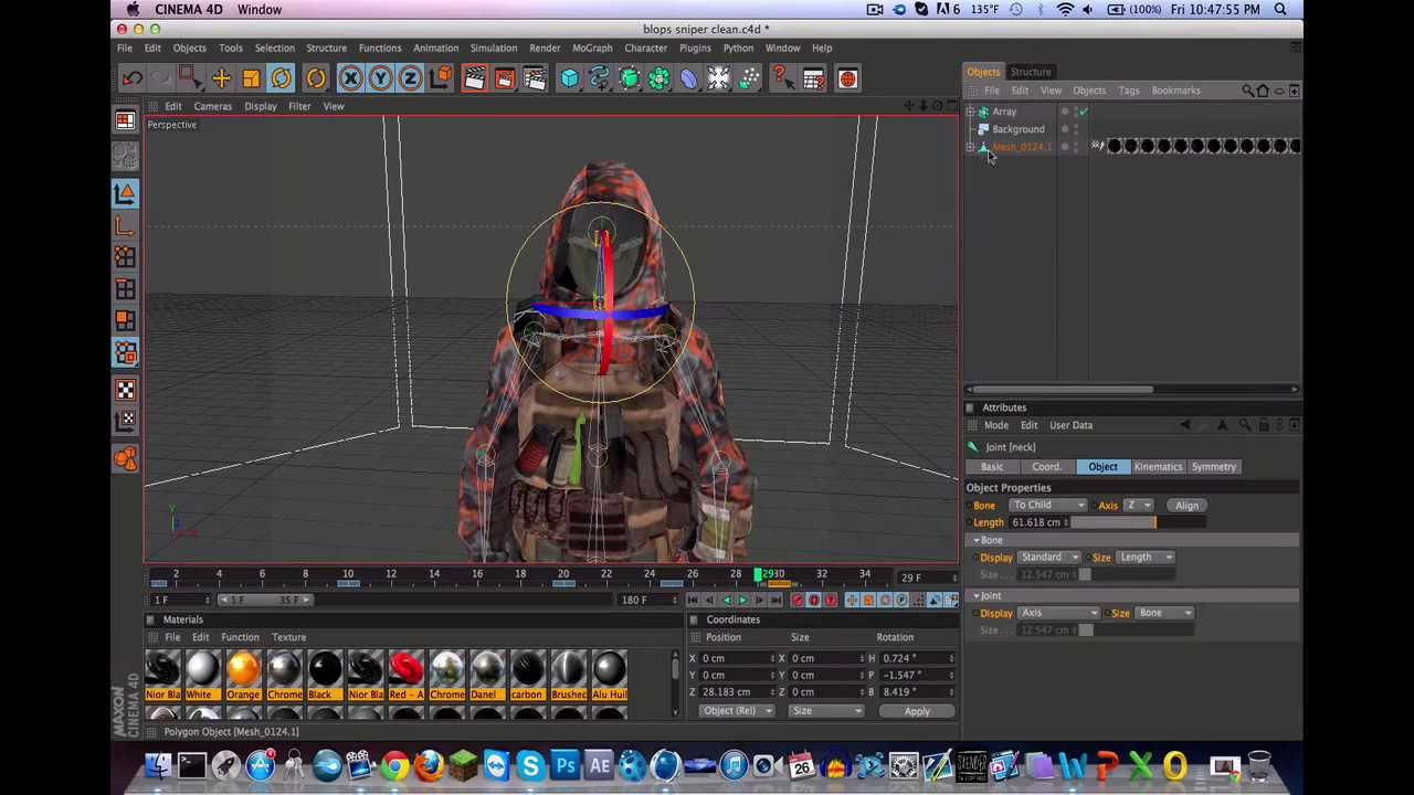Character Design For Animation Tutorial : D call of duty character animation tutorial youtube