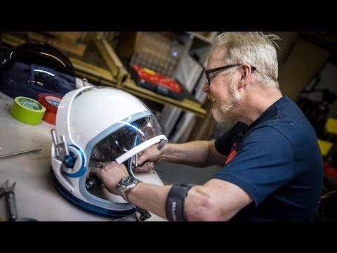 Adam Savage's One Day Builds: NASA Spacesuit Helmet!
