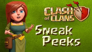 #Sneak Peeks - Clash Of Clans - MAJ Janvier 2014